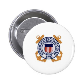 United States Coast Guard Seal Pinback Button