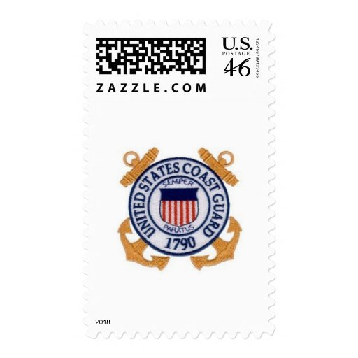 United States Coast Guard Seal Postage Stamp