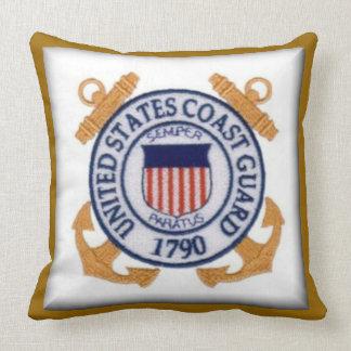 United States Coast Guard Seal Throw Pillow