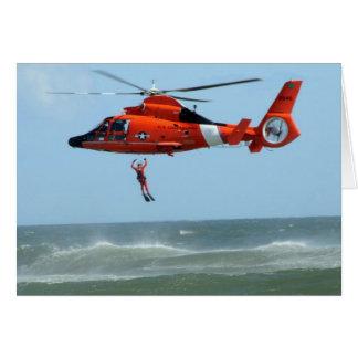 United States Coast Guard Search and Rescue Card