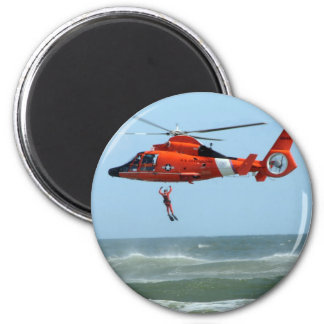 United States Coast Guard Search and Rescue Refrigerator Magnet