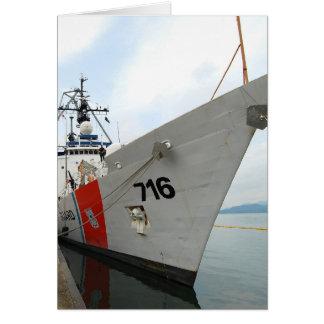 United States Coast Guard Ship Card