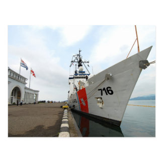 United States Coast Guard Ship Postcard