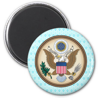 United States Coat of Arms detail 2 Inch Round Magnet