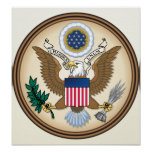 United States Coat of Arms detail Posters