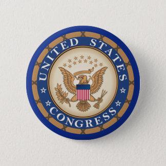 United States Congress Button