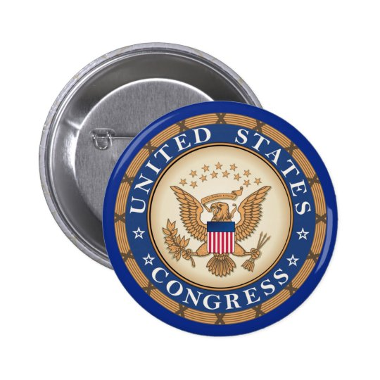 United States Congress Button