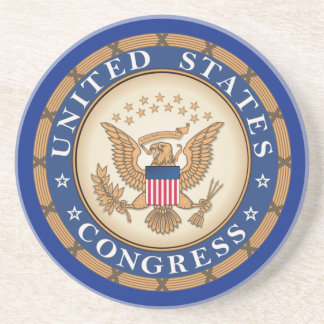United States Congress Drink Coasters