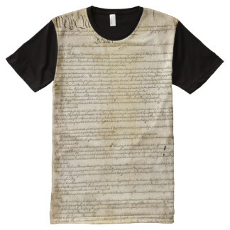 United States Constitution All-Over-Print T-Shirt