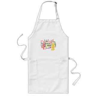 United States Constitution Preamble Word Cloud Long Apron