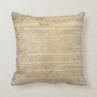 United States Constitution Throw Pillow