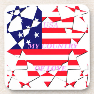 United States Drink Coaster