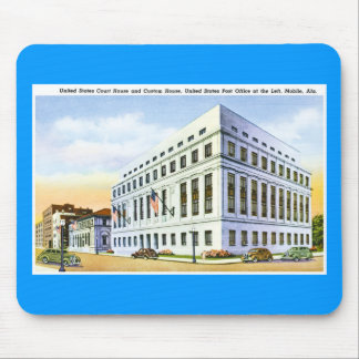 United States Custom House, U.S. Post Office Mouse Pad