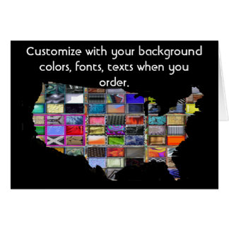 United States Customize card how you want it