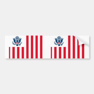 United States Customs Service, United States flag Bumper Sticker