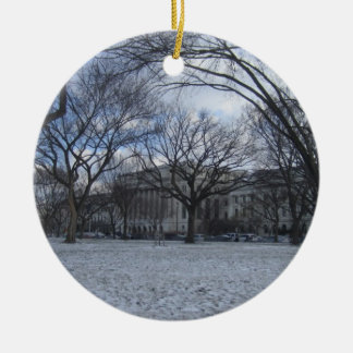 United States department of agriculture Double-Sided Ceramic Round Christmas Ornament