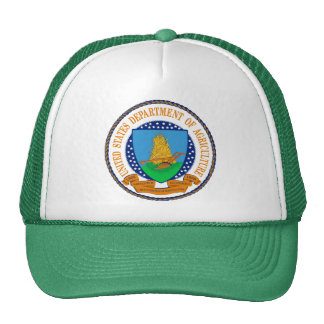 United States Department Of Agriculture Mesh Hats