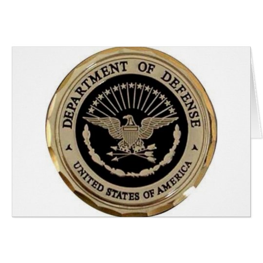 UNITED STATES DEPARTMENT OF DEFENSE CARD