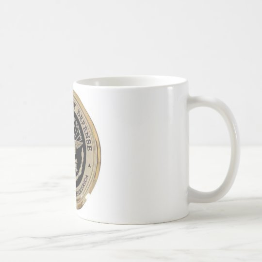 UNITED STATES DEPARTMENT OF DEFENSE COFFEE MUG