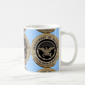 UNITED STATES DEPARTMENT OF DEFENSE COFFEE MUG