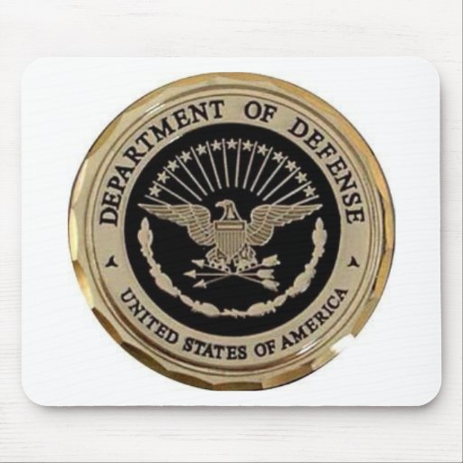 UNITED STATES DEPARTMENT OF DEFENSE MOUSE MATS