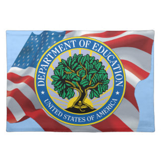 United States Department of Education Cloth Placemat