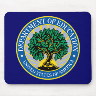 United States Department of Education Mousepads