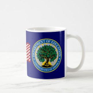 United States Department of Education Classic White Coffee Mug