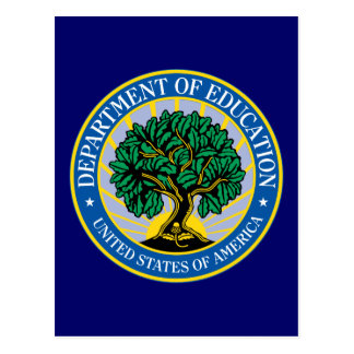 United States Department of Education Postcard