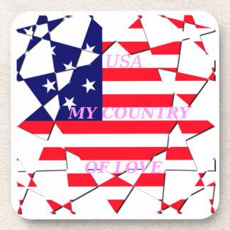 United States Drink Coaster