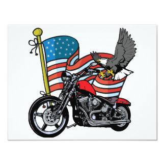 United States Eagle 4.25x5.5 Paper Invitation Card