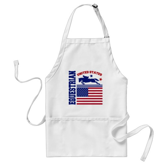 United States Equestrian Adult Apron