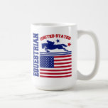United States Equestrian Coffee Mug