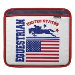 United States Equestrian iPad Sleeve