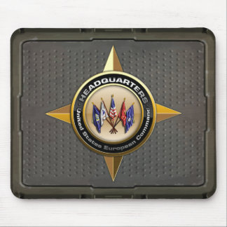 United States European Command Mouse Pad
