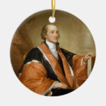 United States First Supreme Court Justice John Jay Christmas Ornament
