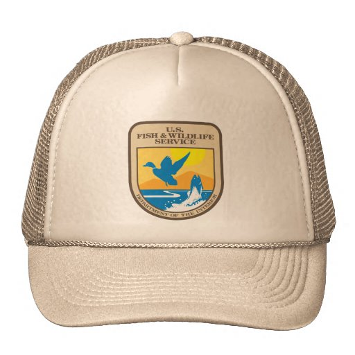 United States Fish And Wildlife Service Trucker Hat Zazzle