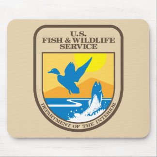 United States Fish and Wildlife Service Mouse Pad