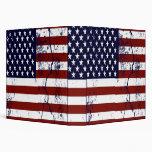 United States Flag  Binder
