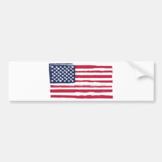 UNITED STATES flag Bumper Sticker