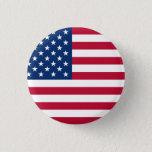 "United States Flag Button<br><div class=""desc"">United States Flag round button</div>"