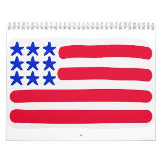 United States flag Calendar