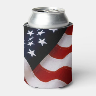 UNITED STATES FLAG CAN COOLER