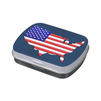 UNITED STATES FLAG JELLY BELLY TINS