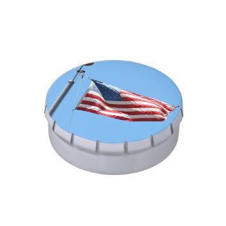 United States Flag Jelly Belly Tin