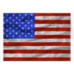 United States Flag Card