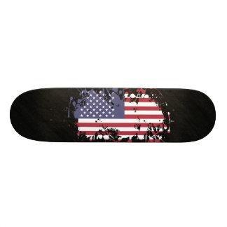 United States Flag Cool Design Skateboard Deck