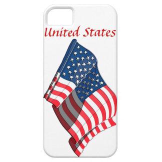United States Flag Design iPhone 5 Case