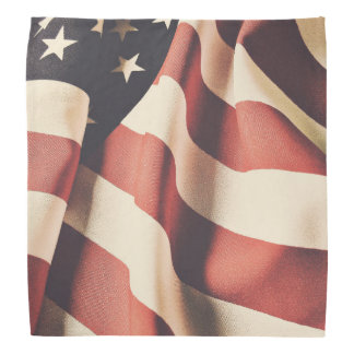 United States flag filter Bandana