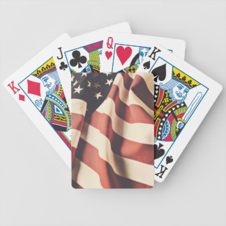 United States flag filter Bicycle Playing Cards